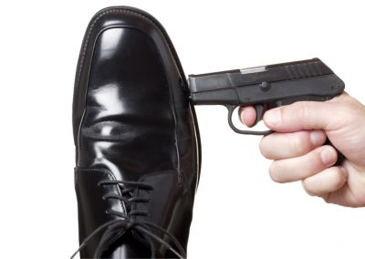 Shooting yourself in the foot? Don't avoid feedback when things are good